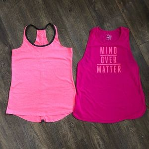 *Lot of 2* OLD NAVY / LAYERS Workout Tanks sz M